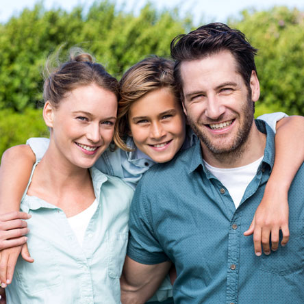 South Des Moines Dental | Smiling Family